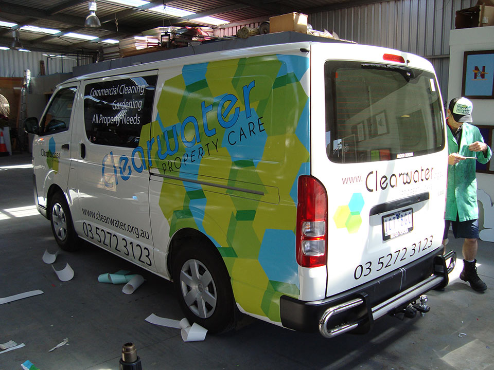 Clearwater Van Wrap National Signs Amp Flags Sign Writer
