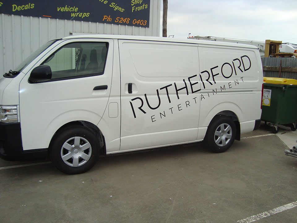 Car Signage, Vehicle, Van, Ute Wraps | National Signs & Flags | Sign