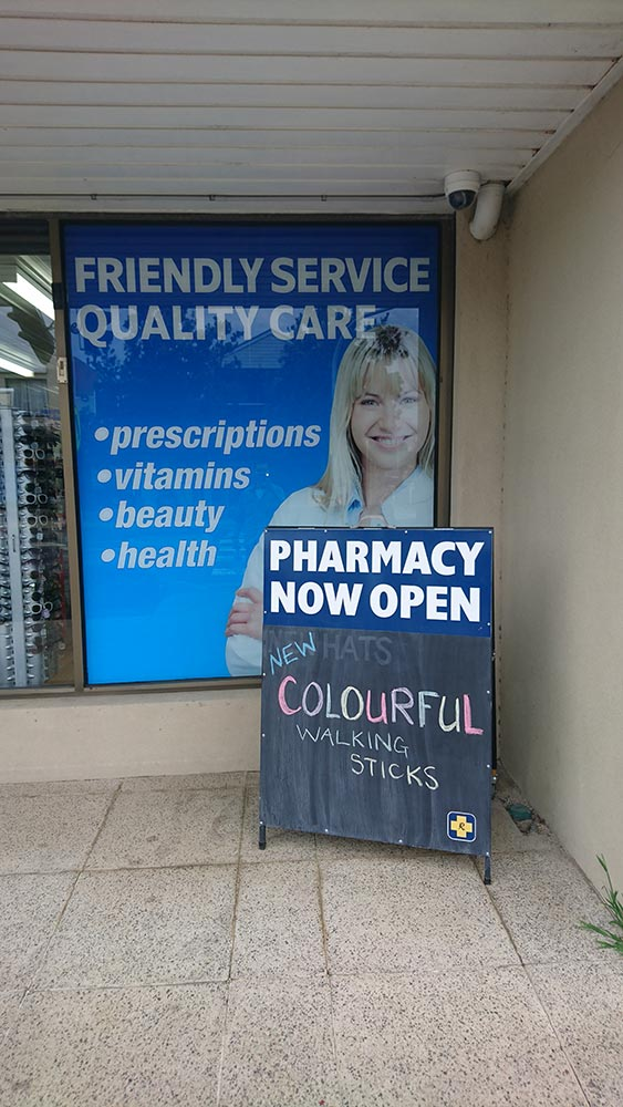 pharmacy-a-frame-and-window-signv2 - National Signs & Flags